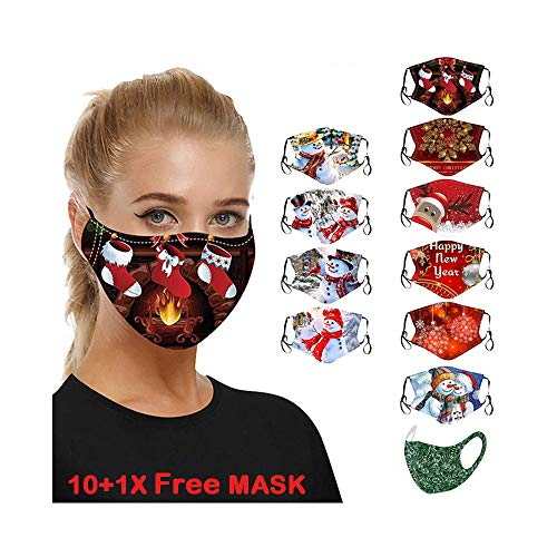 Washable Unisex Multifunctional Outdoor Mask Scarf Balaclava with ear loops onehous Bandana Face Mask for Women//Men for Outdoor Motorcycle-2 pcs Cycling Stretchy Breathable Mask